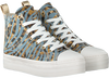 Blaue GUESS Sneaker high BOKAN  - small