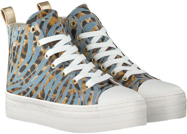 Blaue GUESS Sneaker high BOKAN  - large