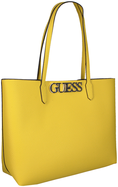 Grüne GUESS Handtasche UPTOWN CHIC BARCELONA TOTE  - large