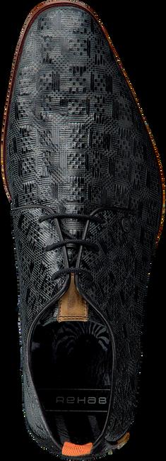 Schwarze REHAB Business Schuhe GREG TETRIS  - large