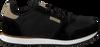 Schwarze WODEN Sneaker YDUN SUEDE MESH  - small