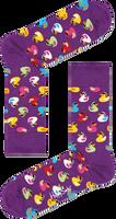 Weiße HAPPY SOCKS Socken RUBBER DUCK SOCK  - medium