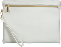 Weiße TED BAKER Clutch DJUNA  - medium