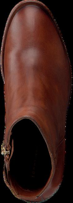 Cognacfarbene TOMMY HILFIGER Stiefeletten MONO COLOR HEELED  - large