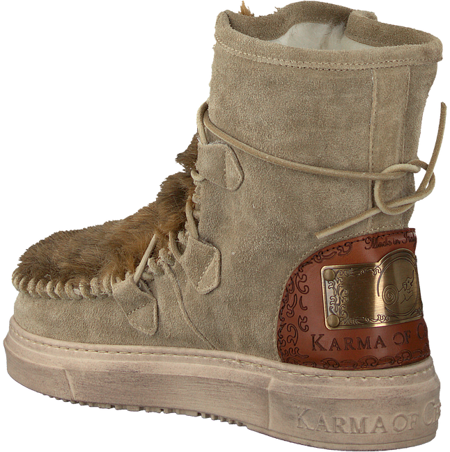 Taupe KARMA OF CHARME Stiefeletten ECO - large