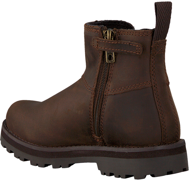 Braune TIMBERLAND Chelsea Boots COURMA KID  - large