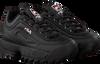 Schwarze FILA Sneaker DISRUPTOR KIDS  - small
