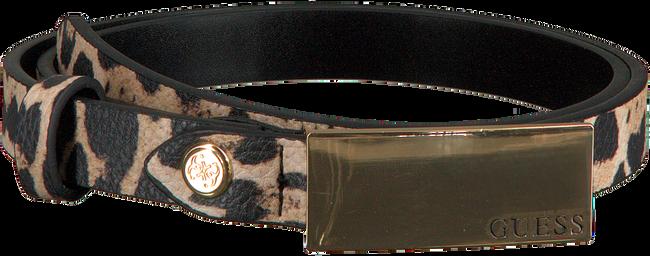 Beige GUESS Gürtel ASHER ADJUSTABLE PANT BELT  - large