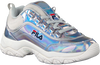 Silberne FILA Sneaker STRADA LOW KIDS  - small