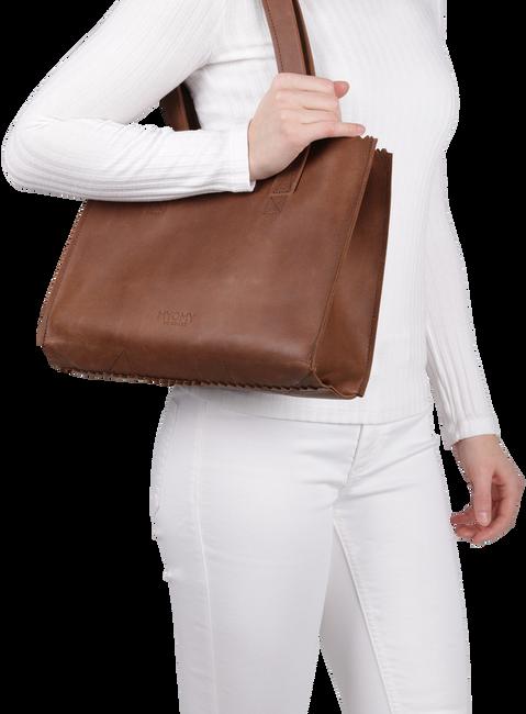 Braune MYOMY Handtasche HANDBAG - large