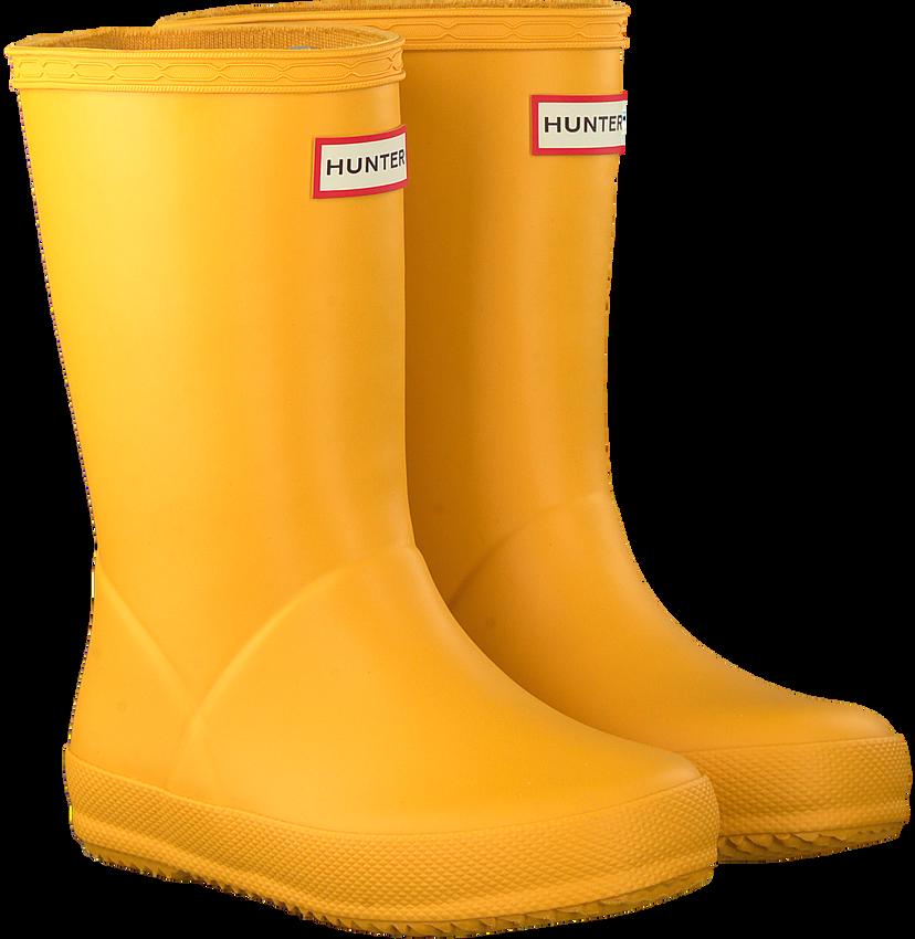 Gelbe HUNTER Gummistiefel KIDS FIRST CLASSIC  - larger