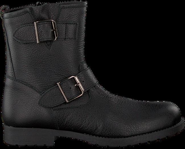 Schwarze CLIC! Biker Boots 8383 - large