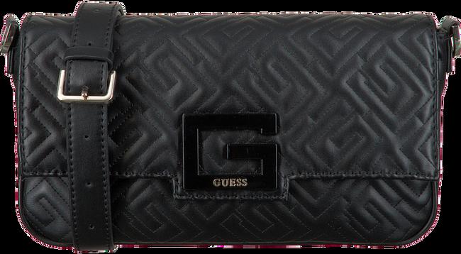 Schwarze GUESS Umhängetasche BRIGHTSIDE SHOULDER BAG  - large