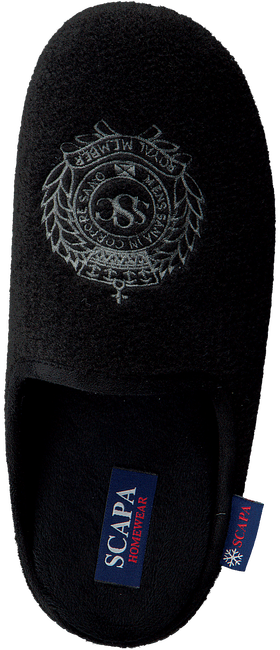 Schwarze SCAPA Hausschuhe 21/11001 - large