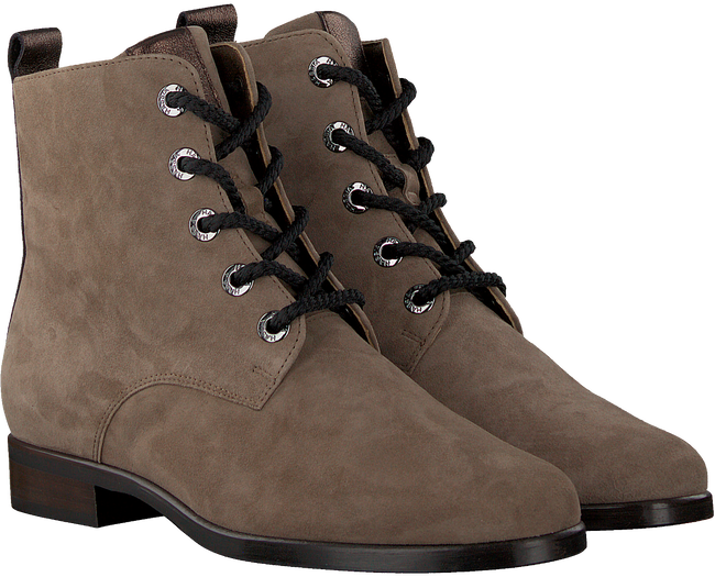Taupe HASSIA Schnürboots GRANADA  - large