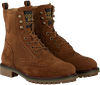 Cognacfarbene SCOTCH & SODA Schnürboots BORREL  - small