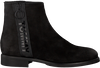 Schwarze TOMMY HILFIGER Chelsea Boots TOMMY JEANS ZIP FLAT  - small