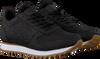 Schwarze WODEN Sneaker low YDUM CROCO II  - small