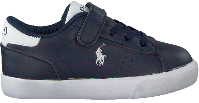 Blaue POLO RALPH LAUREN Sneaker PIERCE EZ  - large