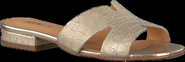 Goldfarbene NOTRE-V Pantolette 2213  - large