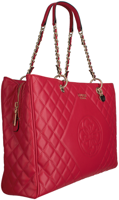 Rote GUESS Handtasche SWEET CANDY LARGE CARRY ALL  - large