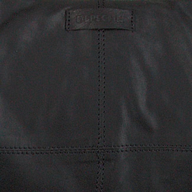 Schwarze DEPECHE Umhängetasche 14622  - large