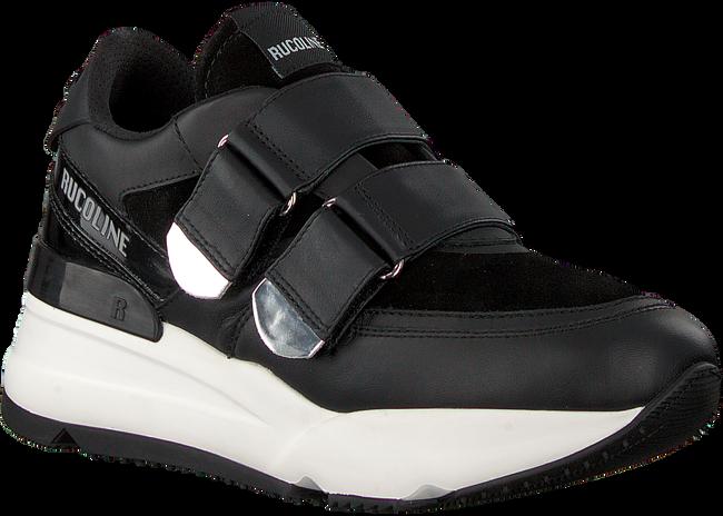 Schwarze RUCOLINE Sneaker 4075 NATURE SUEDE  - large