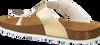 Goldfarbene DEVELAB Pantolette 48176 - small