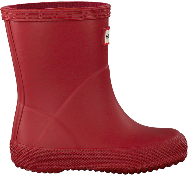 Rote HUNTER Gummistiefel KIDS FIRST CLASSIC - large