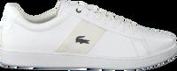Weiße LACOSTE Sneaker CARNEBY EVO  - medium