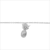 Silberne ALLTHELUCKINTHEWORLD Armband SOUVENIR BRACELET PINEAPPLE - medium