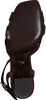 Cognacfarbene LOLA CRUZ Sandalen 406Z10BK  - small