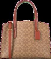 Beige COACH Handtasche CHARLIE CARRYALL  - medium