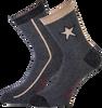 Graue MARCMARCS Socken DEWI COTTON - small