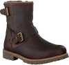 Braune PANAMA JACK Ankle Boots FAUST IGLOO C20 - small