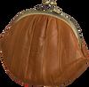 Cognacfarbene BECKSONDERGAARD Portemonnaie GRANNY RAINBOW AW19  - small