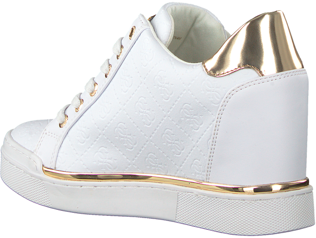 Weiße GUESS Sneaker FLOWURS STIVALETTO  - large