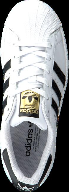 Weiße ADIDAS Sneaker SUPERSTAR W  - large