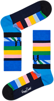 Mehrfarbige/Bunte HAPPY SOCKS Socken BEATLES LEGEND CROSSING SOCK  - medium