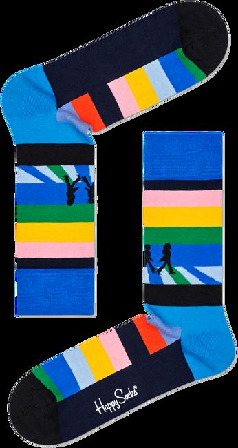 Mehrfarbige/Bunte HAPPY SOCKS Socken BEATLES LEGEND CROSSING SOCK  - large