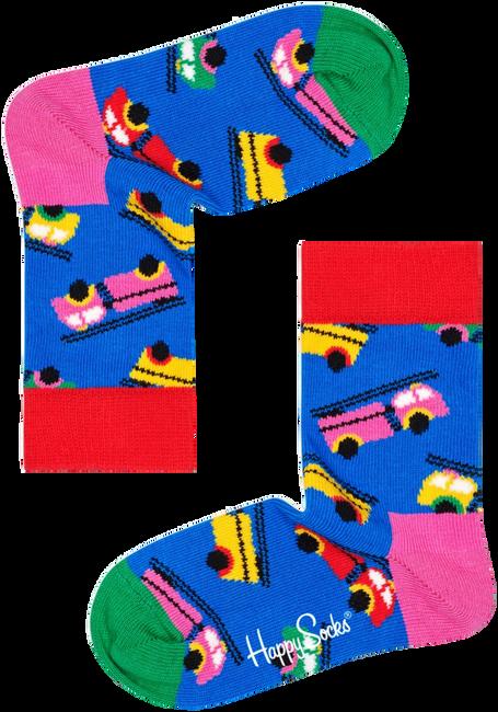 Weiße HAPPY SOCKS Socken KIDS FIRE TRUCK SOCK  - large
