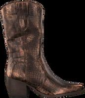Bronzefarbene VERTON Hohe Stiefel 687-007  - medium