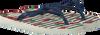 Blue HAVAIANAS shoe KIDS SLIM FASHION  - small
