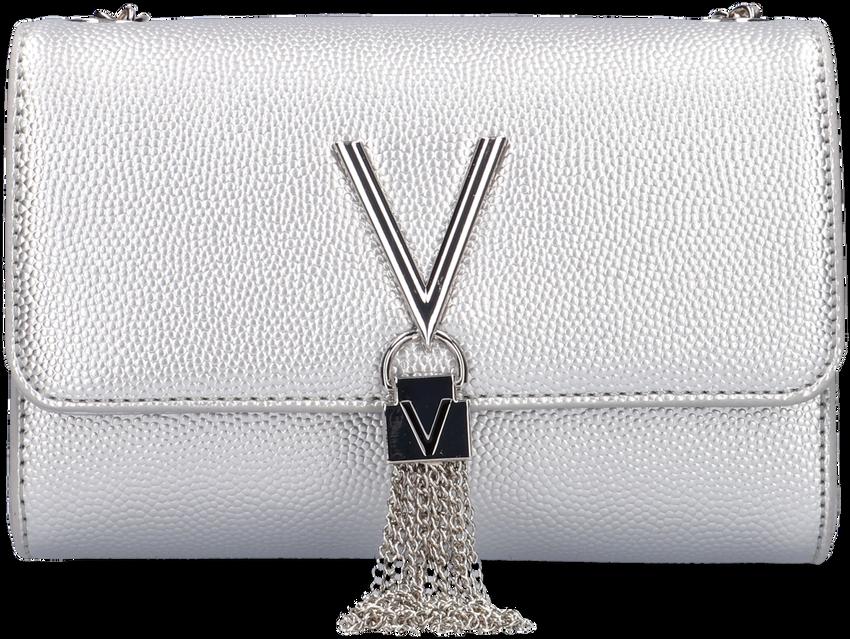 Silberne VALENTINO BAGS Umhängetasche DIVINA CLUTCH - larger