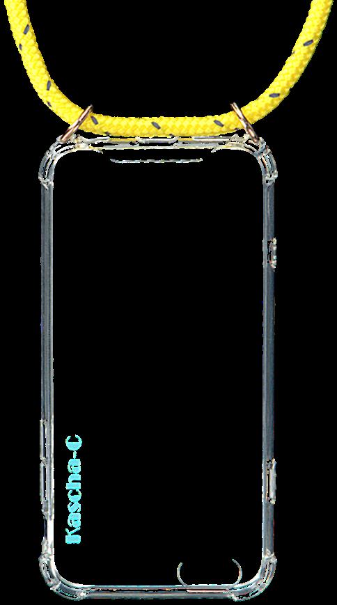 Gelbe KASCHA-C Handy-Schutzhülle PHONECORD IPHONE 6/6S jMzCC