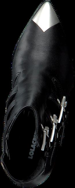 Schwarze LOLA CRUZ Stiefeletten 294T10BK  - large