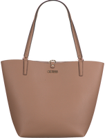 Taupe GUESS Handtasche ALBY TOGGLE TOTE  - medium