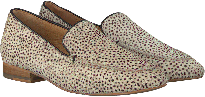 Beige MARUTI Loafer BLOOM HAIRON LEATHER - larger