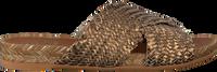 Bronzefarbene KANNA Pantolette 20191  - medium