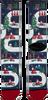 Mehrfarbige/Bunte XPOOOS Socken XMAS - small